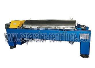 Automatic Continuous Horizontal  Decanter Centrifuge used in Kaolin application