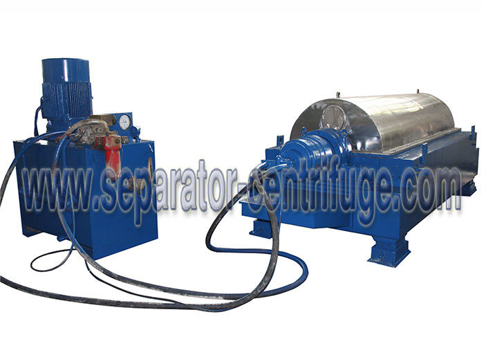 Model PDC Decanter Separating Machine Crude Oil Centrifuge For Sunflower Oil