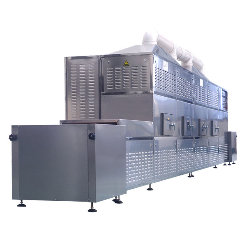 Continuous Hot Air Circulation Leaf Drying Machine / Hemp Drying Machine Automatic