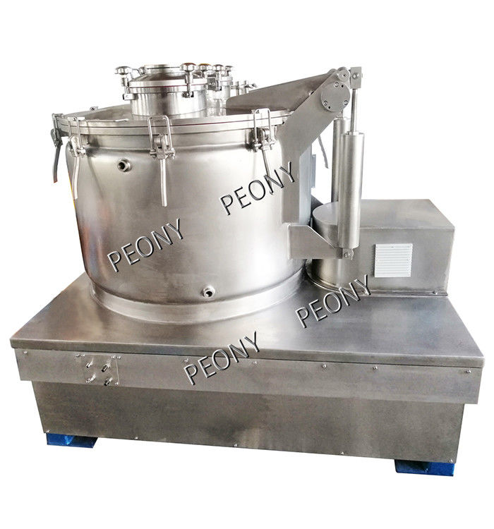 Hemp Oil Extraction Top Discharge Centrifuge /  Cold Ethanol Extraction Equipment
