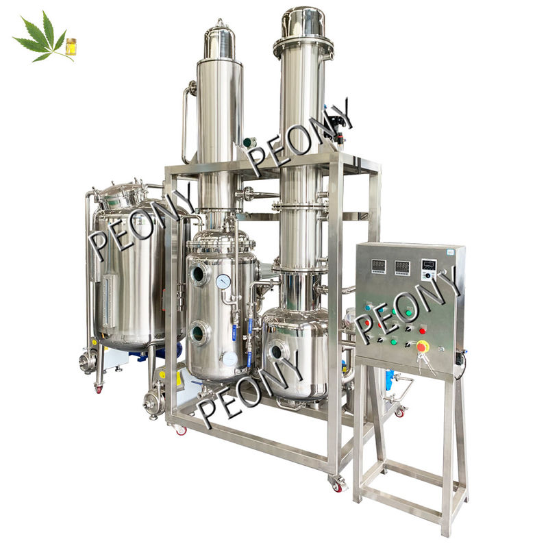 CBD Oil Hemp Extraction Machine System Solution For Cannabis In Low Temperature